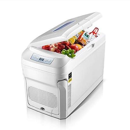 GXFC Mini Nevera Refrigerador de Doble Uso para automóviles de 35L ...