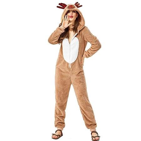 GHC Ropa Interior y Pijamas Disfraz de Animal Reno de la Navidad ...
