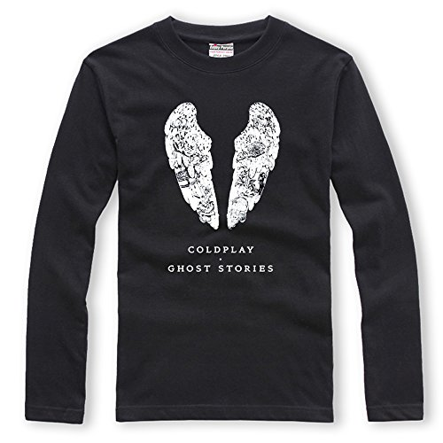 CosDaddy ® Coldplay Ghost Stories Schwarz Shirt fashion Cosplay Kostüm