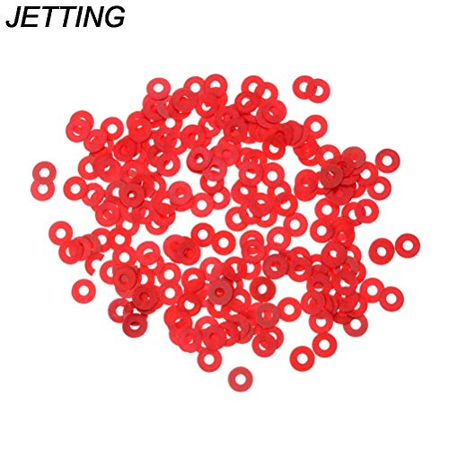 Gimax 100 Pcs Practical Red Motherboard Screw Insulating Fiber Washers Wholesale Low Price