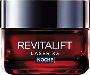 L'Oreal Paris Revitalift Láser x3 Crema Noche Intensiva Anti-Edad - 50 ml