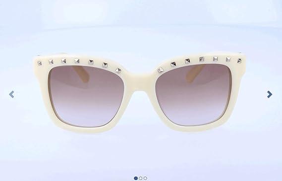 Valentino Gafas de Sol 660S-215 (52 mm) Nata: Amazon.es ...