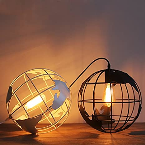 Amazon.com: injuicy Lighting moderno simple Hierro forjado ...
