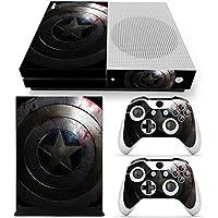 Xbox One S Vinyl Skin Estampas Compatible Con Xbox One S (Escudo)