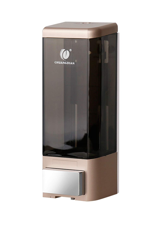 BBX Lephsnt CHUANGDIAN Wall Mount Soap Dispenser Shampoo/Lotion Single Bottle 500ml