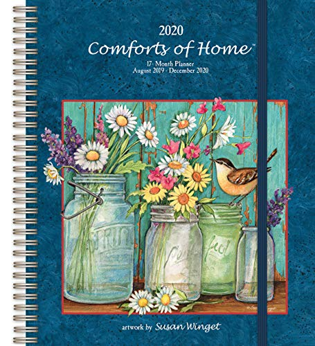 2020 Comforts of Home Deluxe Planner, by Wells Street by LANG