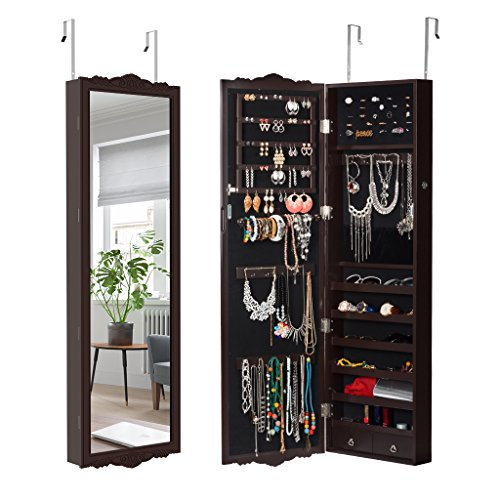 mirrored glass cabinet - 9