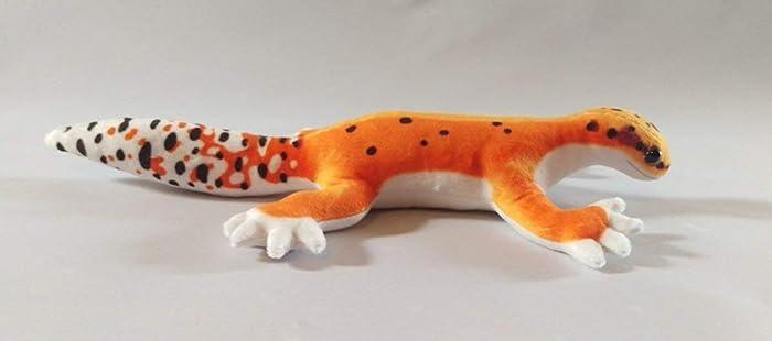 Leopard Gecko Plushie - Tangerine Markings: Amazon co uk: Handmade