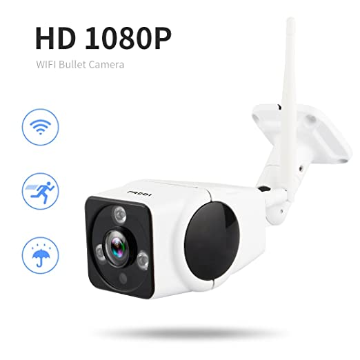 5 opinioni per FREDI HD Wifi 1080P bullet camera esterno senza fili IP Camera per la
