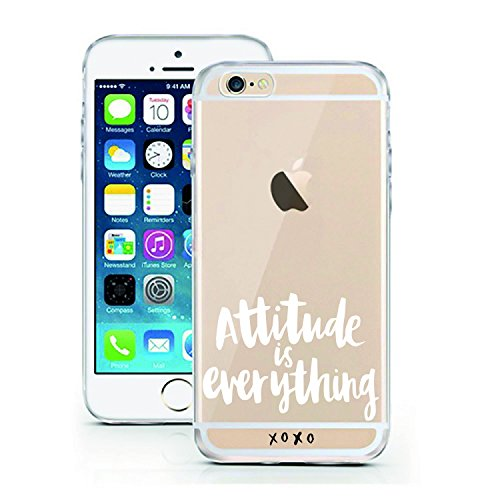 Price comparison product image iPhone 5 5S SE Case by licaso for the iPhone 5 5S SE TPU Disney Attitude is Everything XOXO Fashion Clear Protective Cover iphone5 Mobile Phone Sleeve Bumper (iPhone 5 5S SE, Attitude is Everything)