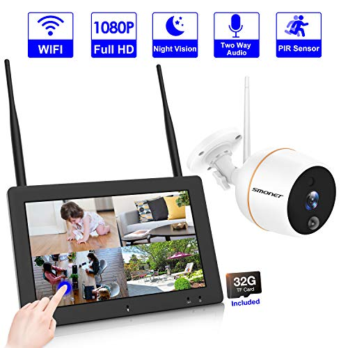 Touch Screen Network - 【4CH NVR】Wireless Video Security Camera System, SMONET 7