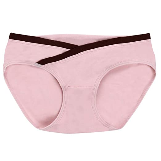 33a1fd8b31278 Intimate Portal Women's Under The Bump Maternity Panties Pregnancy Underwear  at Amazon Women's Clothing store: