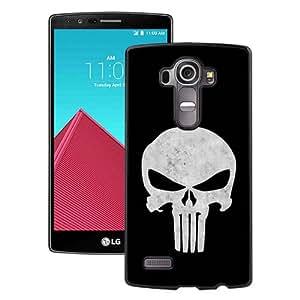 Individualization punisher skull Black Case For LG G4 Phone Case Cool Design