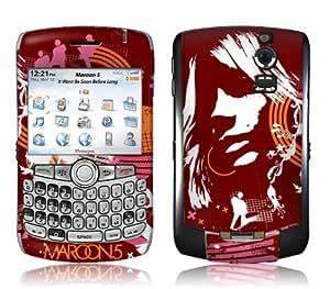 MusicSkins, MS-M520006, Maroon 5 - Abstract, BlackBerry Curve (8300/8310/8320), Skin