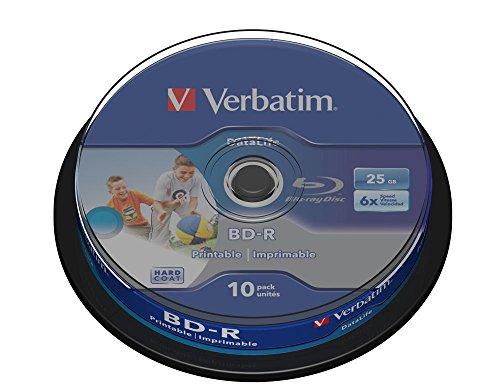 DataLife - 10 x BD-R - 25 GB 6x by Verbatim