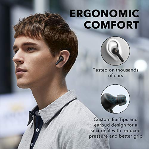 Anker Soundcore Life P2 True Wireless Earbuds with 4 Microphones CVC 80 Noise Reduction Graphene