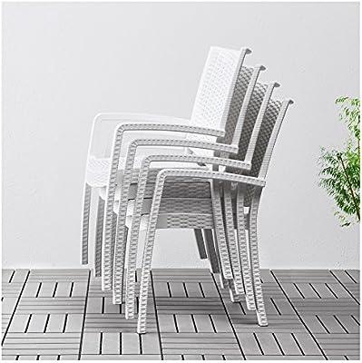 Zigzag Trading Ltd IKEA INNAMO Silla con Brazos, al Aire