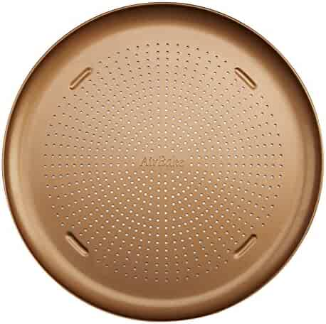 T-fal 84822 Airbake Copper Nonstick Pizza Pan, Set of 2, 12.75
