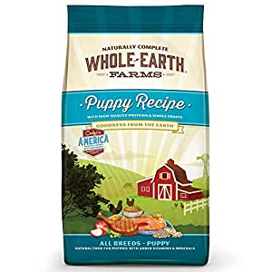 Whole Earth Farms Natural Dry Dog Food; Puppy Recipe