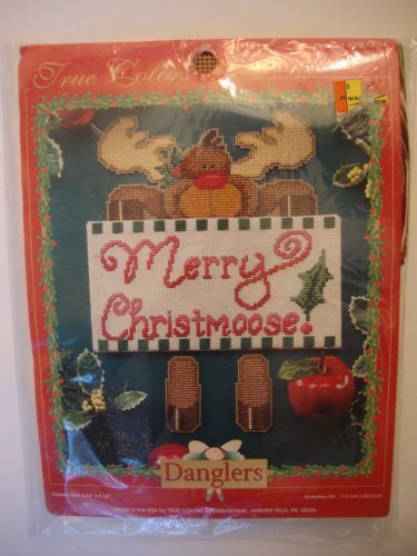 True Farbes Danglers Merry Christmoose Bastelset Bastelset Bastelset B01AVVDSL0 | Die Farbe ist sehr auffällig