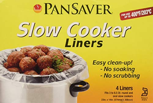 PanSaver Slow Cooker Set of 4 Liners per -