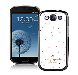 Galaxy S3 I9300 Phone Case Kate Spade New York Hardshell Case for Samsung Galaxy S3 i9300 Cover 208 Black