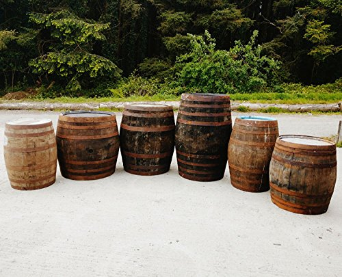 Celtic Timber EX-WHISKEY OAK BARRELS – DIFFERENT SIZES AND STYLES (40 Gallon)