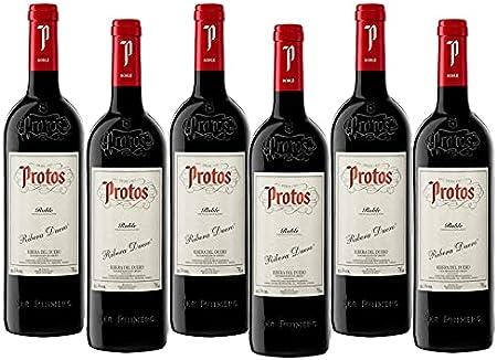 Protos Roble - 6 Botellas - Vino Tinto - Ribera del Duero - Seleccionado y Enviado por Cosecha Privada
