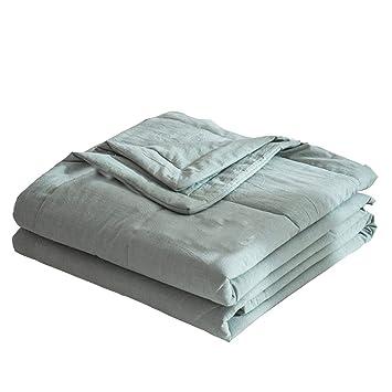 Amazon.com: Demiyat - Colcha para verano, tela lavable a la ...