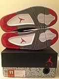 "Air Jordan 4 RETRO ""Bred"" Black/Fire Red-Cement Grey 308497-089"