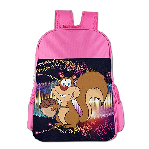 Price comparison product image ColorSee Cute Cartoon Chipmunk Bookbag Kids School Bag Boys Girls Backpack