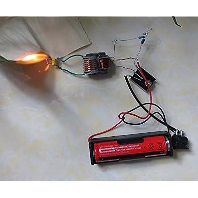 Icstation DIY 15KV 15000V High Voltage Arc Generator Electric Lighter Ignition Coil Kit: Industrial & Scientific