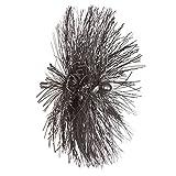 5 1 2 chimney brush - Wohler 5529 Threaded Perlon Brush Set (Pack of 5)