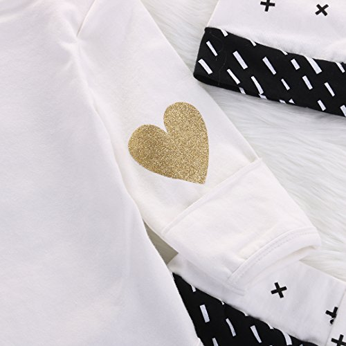 newborn baby girl boy gold hello world top romperpants