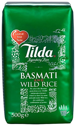 Tilda Basmati and Wild Rice 500 g (Pack of 5) by Tilda