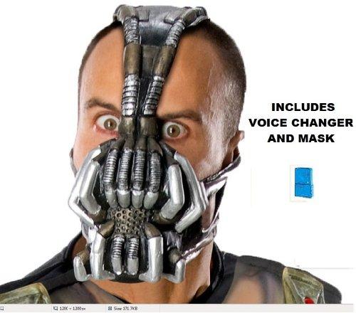 Batman The Dark Knight Rises Bane Adult Mask with Voice Changer - Bane Mask With Voice Changer