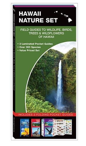 Hawaii Nature Set: Field Guides to Wildlife, Birds, Trees & Wildflowers of Hawaii