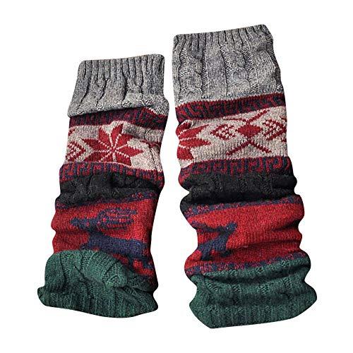 HYIRI Christmas classic Winter Warm Leg Cable Knit