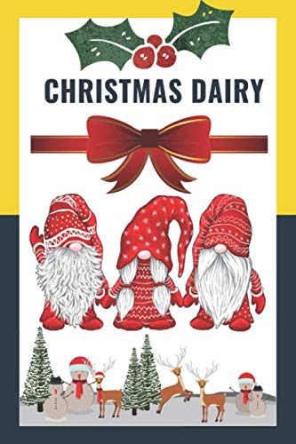 Costume Ideas For Three Women (Composition Notebook Dairy: 3 Nordic Christmas Gnome Womens Costume Swedish Tomte Cute Elves Journal/Notebook Blank Lined Ruled 6x9 110 Pages Matte Cover  & )