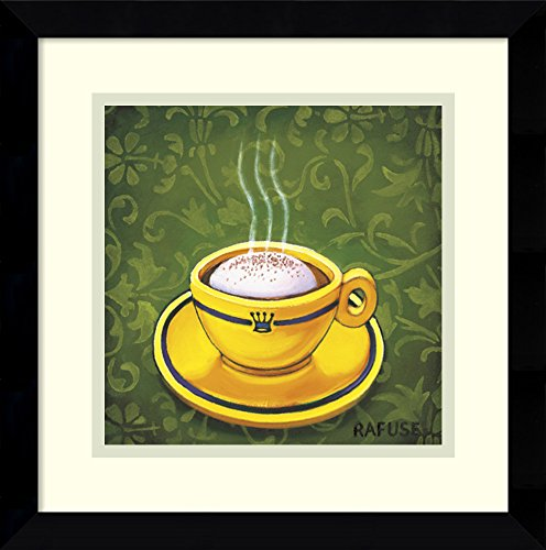 Framed Art Print 'Cafe Latte' by Will Rafuse