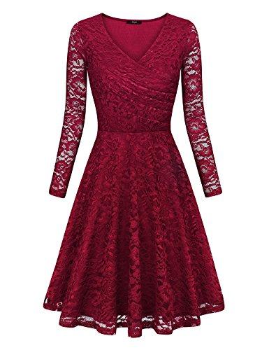 lace a line wedding dresses - 5