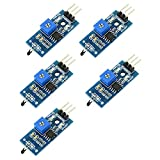 5pcs NTC Thermistor Temperature Sensor Module with LM393 Voltage Comparator and Digital Output from Optimus Electric