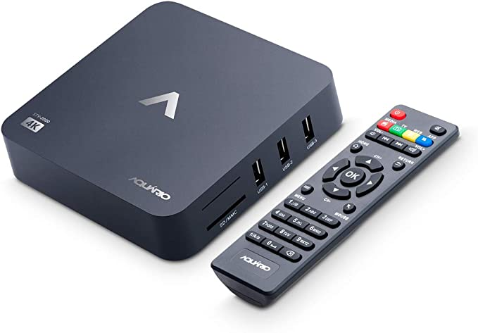 Smart TV Box, Aquario STV-2000, Preto, Pequeno por Aquario