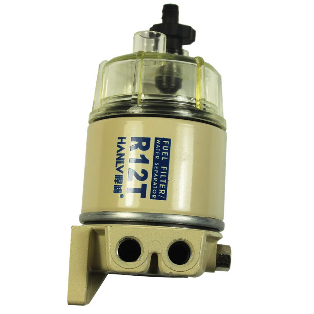 DIESEL FUEL FILTER/WATER SEPARATOR FOR R12T MARINE SPIN-ON HOUSING 120AT CARMOCAR