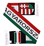 Magyarorszag Hungary Soccer Knit Scarf