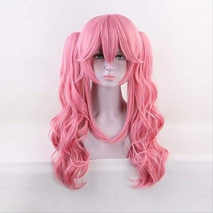 ACPW wigCosplay Wig Anime Hair Halloween Traje Rosa Peluca ...
