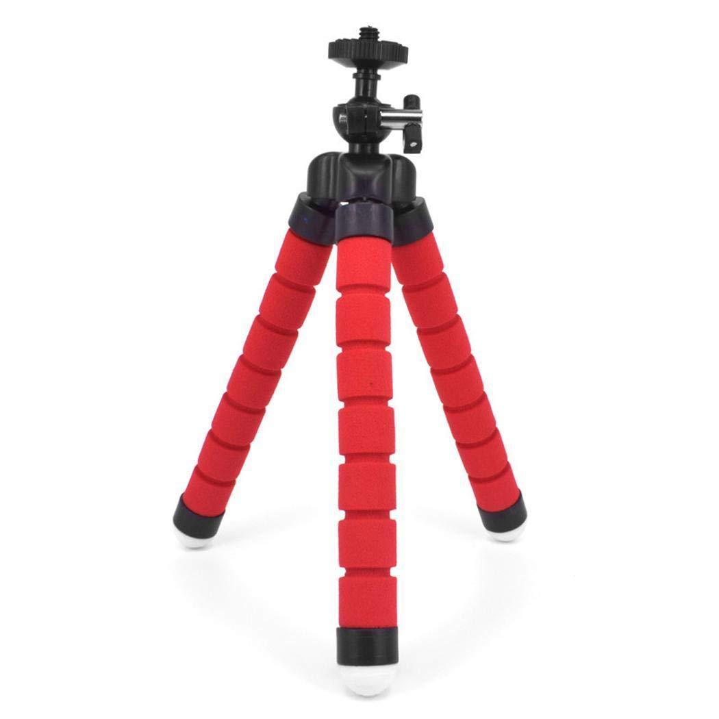 高品質 Kindsells 三脚 携帯電話カメラ KDF039518_R*#* Bluetooth 三脚 セルフタイマー ミニスポンジ三脚ブラケットセット, レッド KDF039518_R*#* レッド B07Q2NGWX8, カワニシチョウ:ab6fc4c6 --- martinemoeykens.com