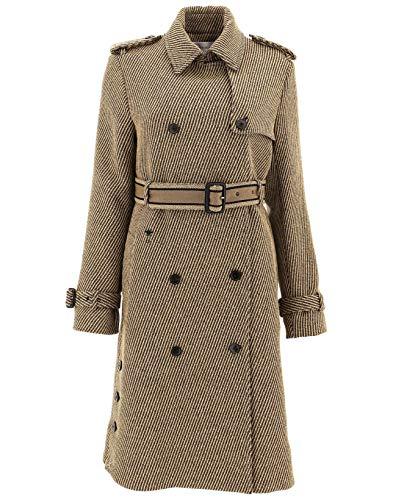 Dior Women's 911M83a10481836 Green Wool Coat ()