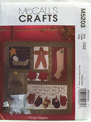 Uncut Mccalls Craft Pattern - 9