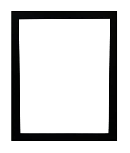Frames By Post H7 Picture Photo Frame Black 18 X 14 Inch Amazon